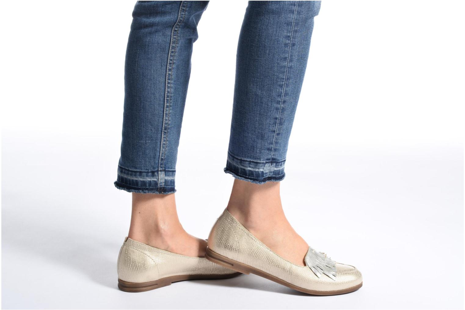 Loafers Khrio Adua Silver view from underneath / model view