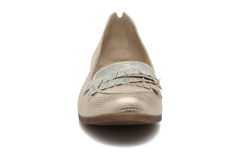 Mocassins Khrio Adua Argent vue portées chaussures