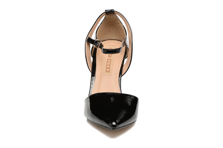Escarpins Buffalo Maëva Noir vue portées chaussures