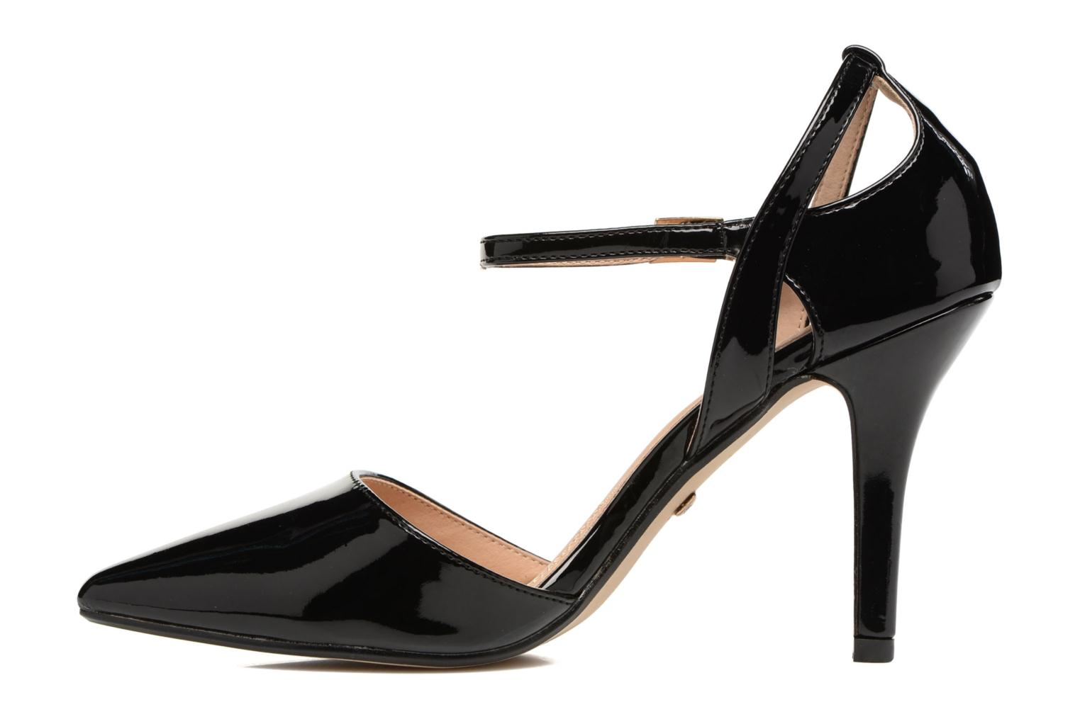 High heels Buffalo Maëva Black front view