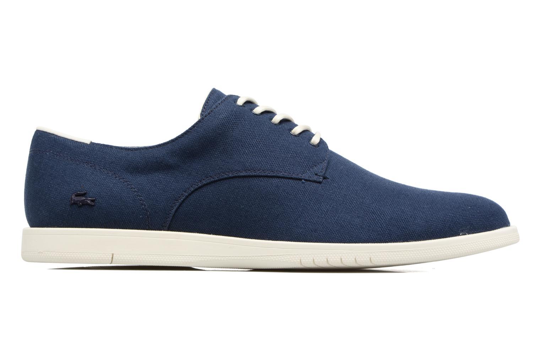 Chaussures à lacets Lacoste Laccord 217 1 Bleu vue derrière
