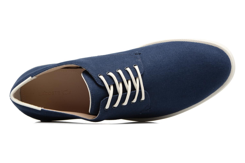 Chaussures à lacets Lacoste Laccord 217 1 Bleu vue gauche