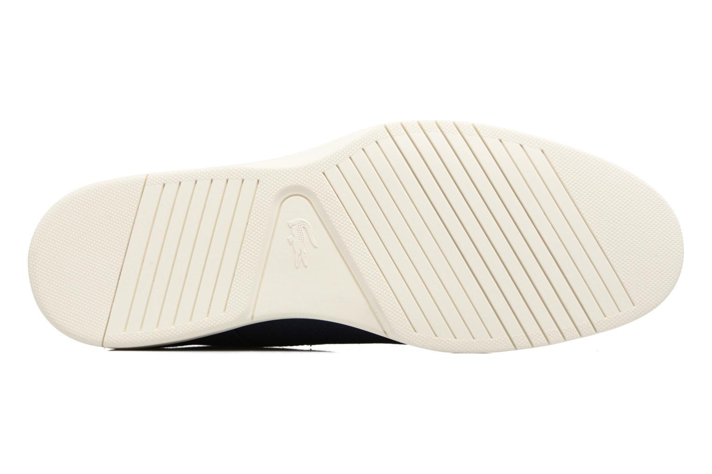 Chaussures à lacets Lacoste Laccord 217 1 Bleu vue haut