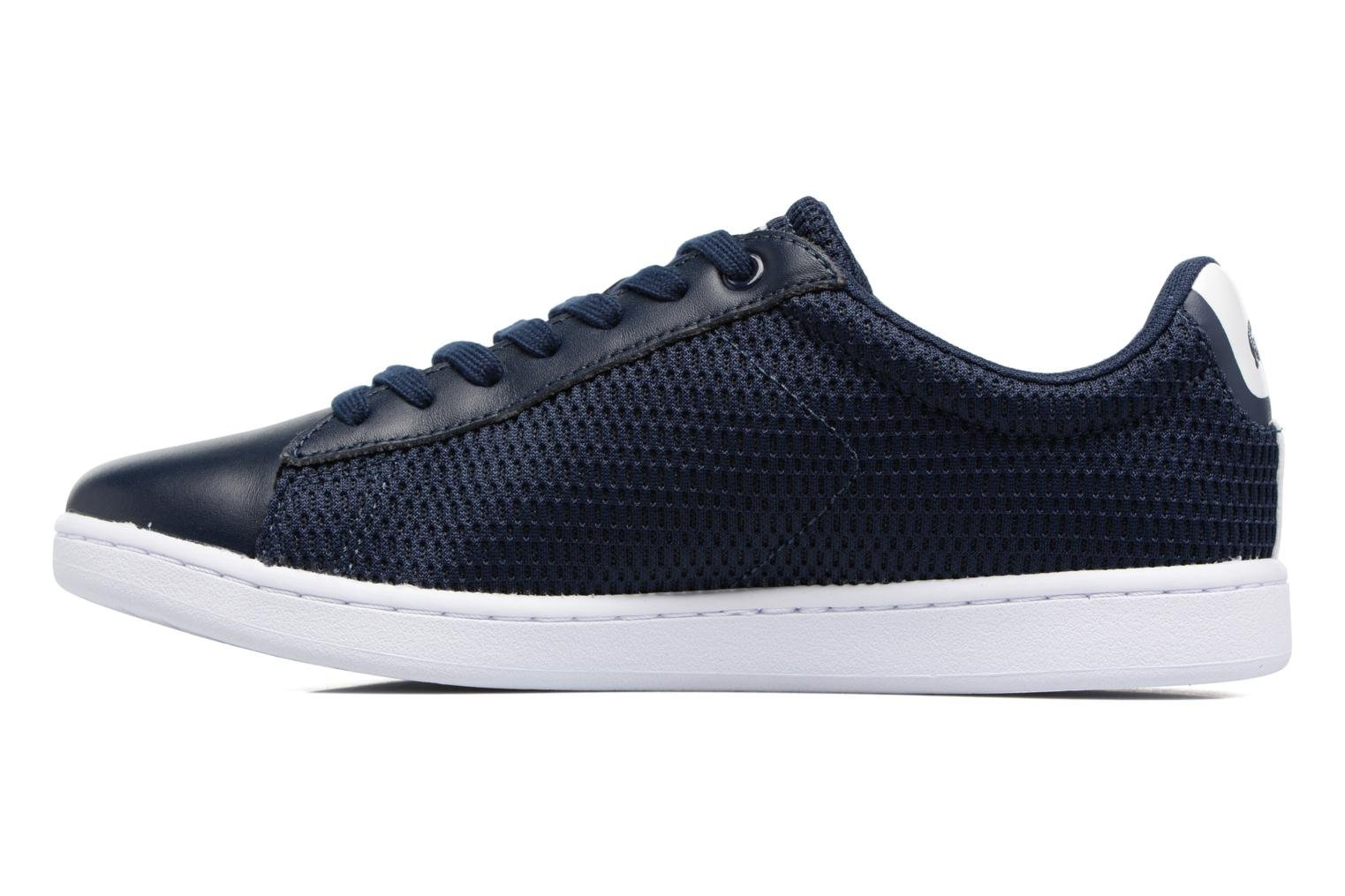 Baskets Lacoste Carnaby Evo 217 1 W Bleu vue face