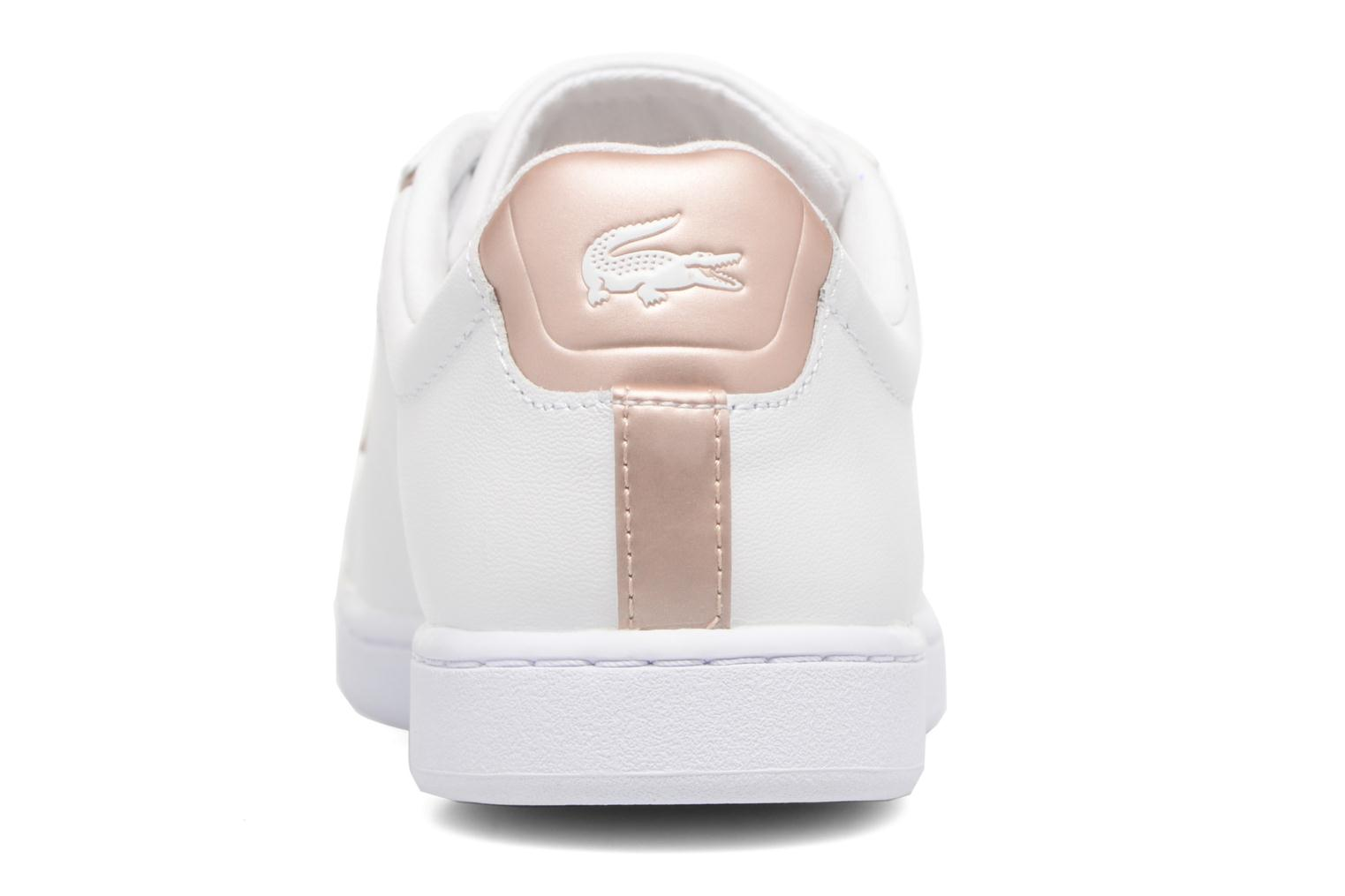 Baskets Lacoste Carnaby Evo 217 2 Blanc vue droite