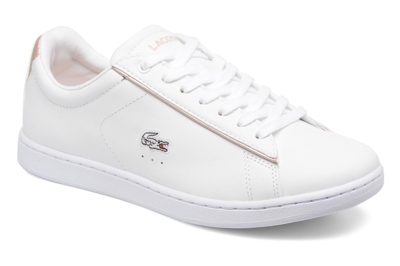 Basket -mode - Sneakers LACOSTE Carnaby Evo Blanc JKMISZwMsm