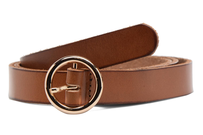 Lisbeth Leather Jeans Belt Cognac