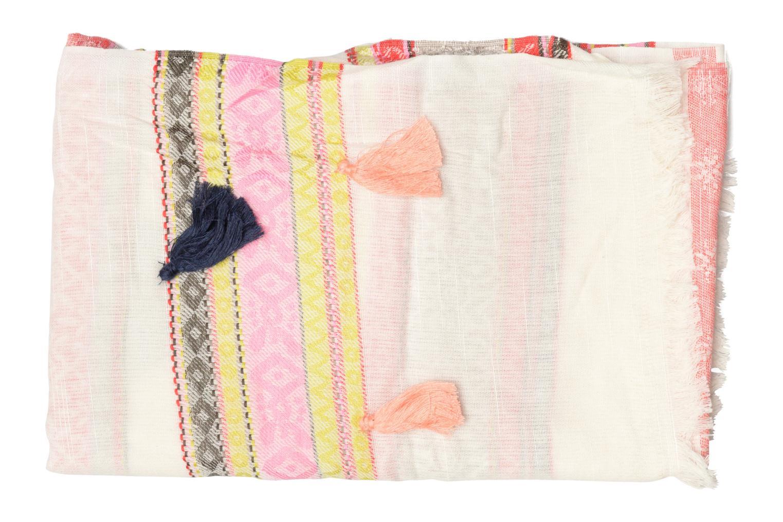 Sonstiges Pieces Lisa Long scarf beige schuhe getragen