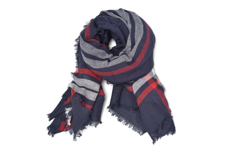 Divers Pieces Larina Square scarf Bleu vue détail/paire