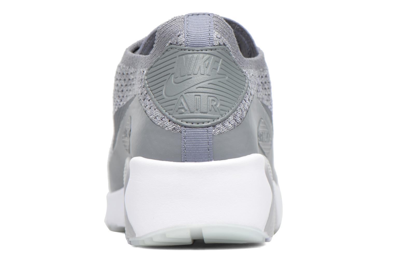Deportivas Nike Air Max 90 Ultra 2.0 Flyknit Gris vista lateral derecha
