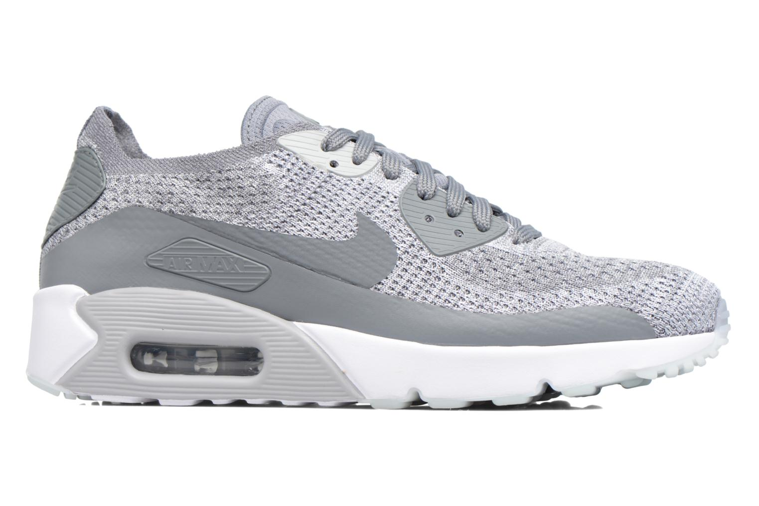 Sneakers Nike Air Max 90 Ultra 2.0 Flyknit Grijs achterkant