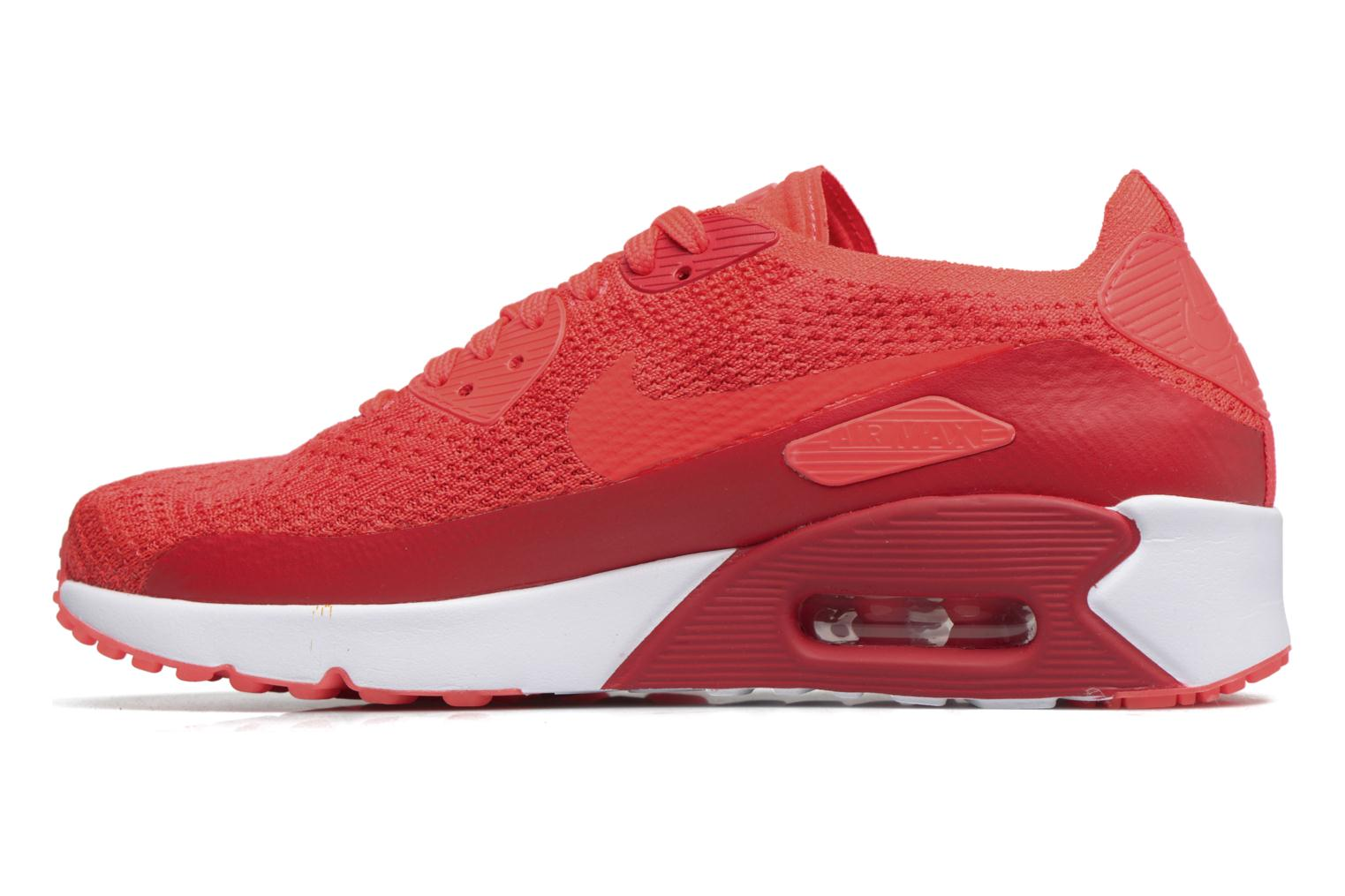Baskets Nike Air Max 90 Ultra 2.0 Flyknit Rouge vue face