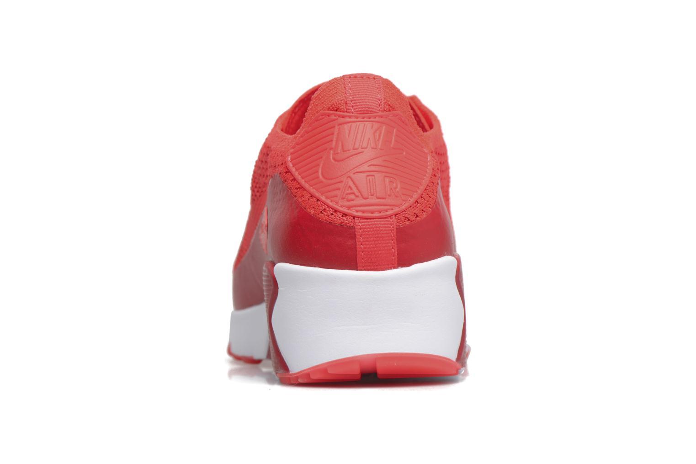 Sneaker Nike Air Max 90 Ultra 2.0 Flyknit rot ansicht von rechts