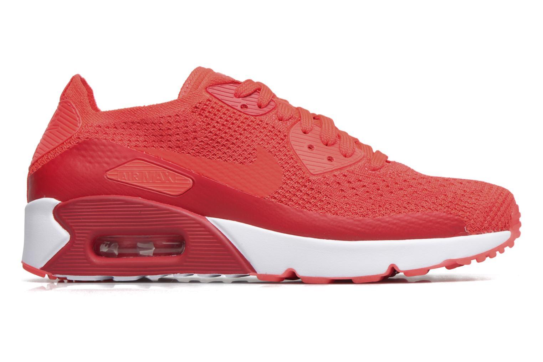 Sneaker Nike Air Max 90 Ultra 2.0 Flyknit rot ansicht von hinten
