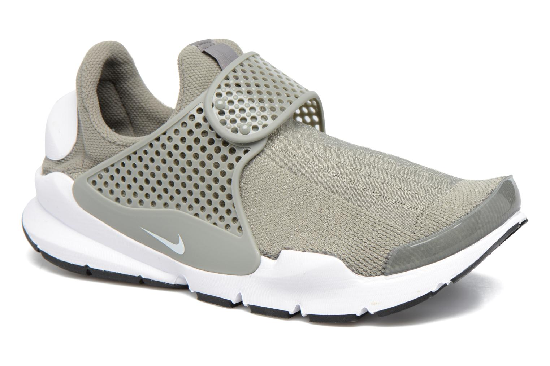 Sneakers Nike Wmns Nike Sock Dart Grøn detaljeret billede af skoene