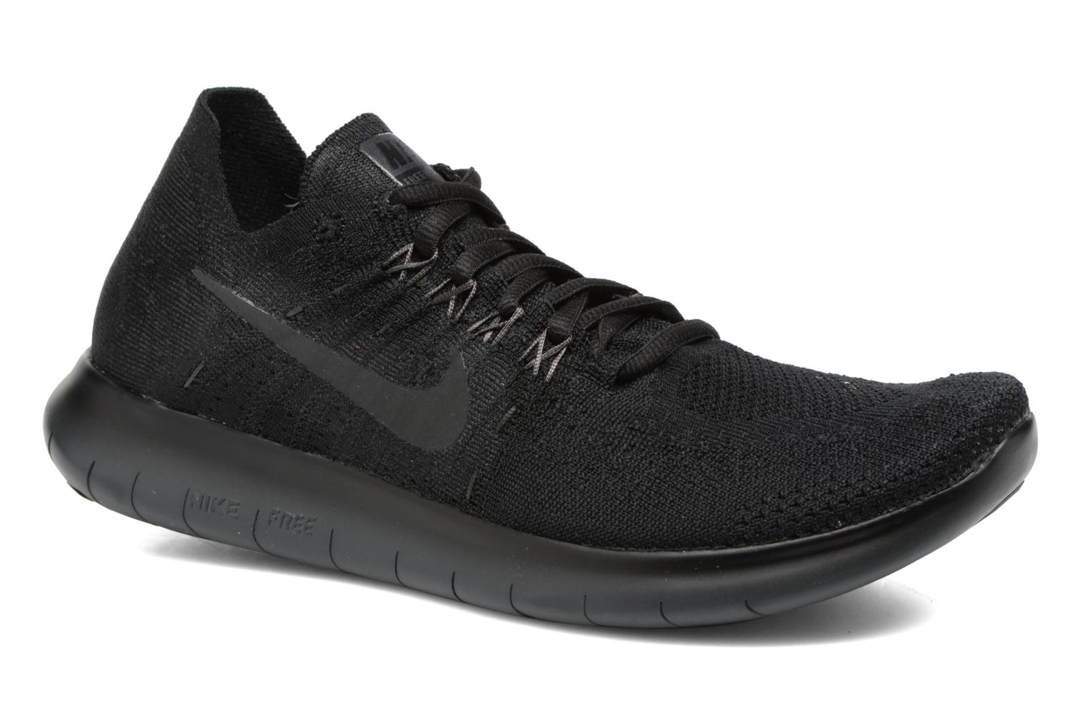 Wmns Nike free Rn Flyknit 2017 Black/anthracite