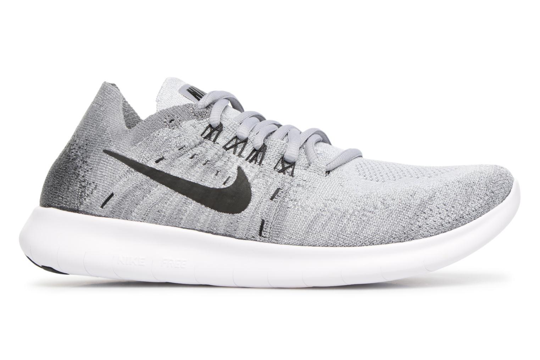 Sportschuhe Nike Wmns Nike free Rn Flyknit 2017 grau ansicht von hinten