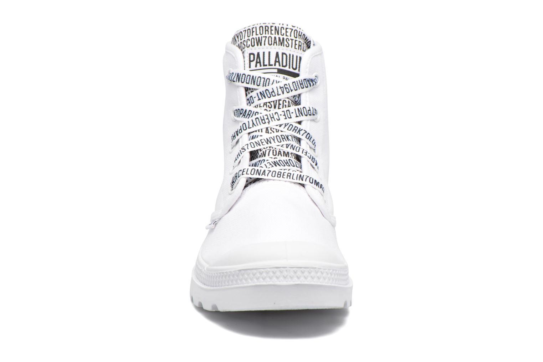 Baskets Palladium Pampa Hi 70Th U Blanc vue portées chaussures