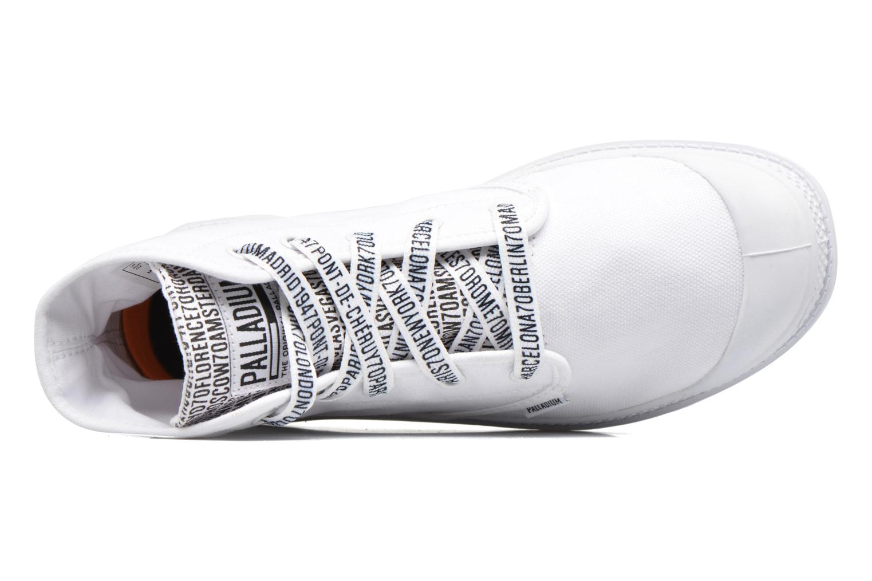 Sneakers Palladium Pampa Hi 70Th U Hvid se fra venstre