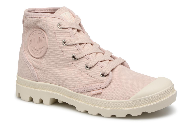 Grandes descuentos últimos zapatos Palladium Us Pampa Hi F (Rosa) - Deportivas Descuento