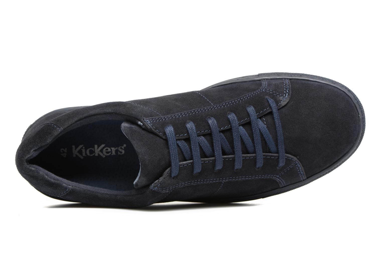 Sneaker Kickers Blake blau ansicht von links