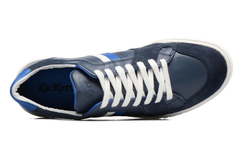 Sneaker Kickers Jexprime blau ansicht von links