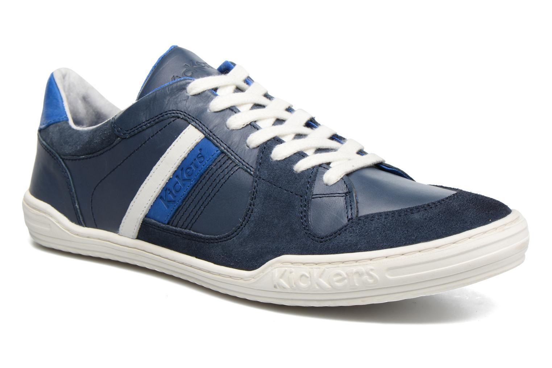 Kickers Jexprime (Bleu) - Baskets chez Sarenza (294205)