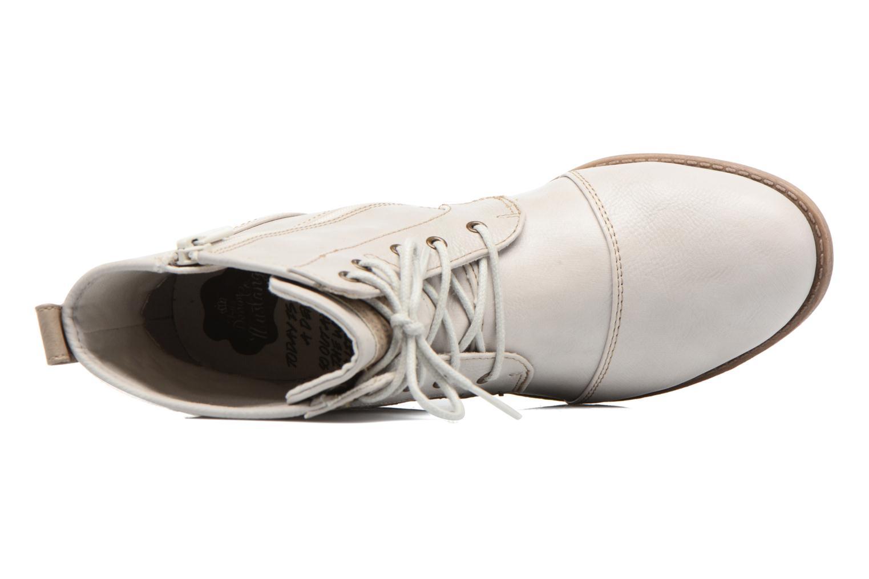 Bottines et boots Mustang shoes Chiara Beige vue gauche