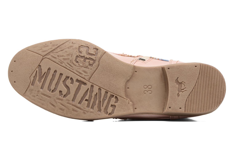 Bottines et boots Mustang shoes Chiara Rose vue haut