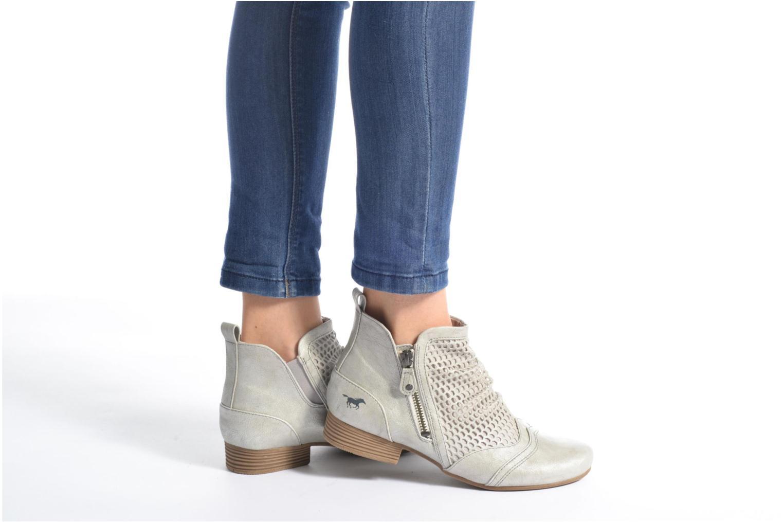 Stiefeletten & Boots Mustang shoes Clelia beige ansicht von unten / tasche getragen