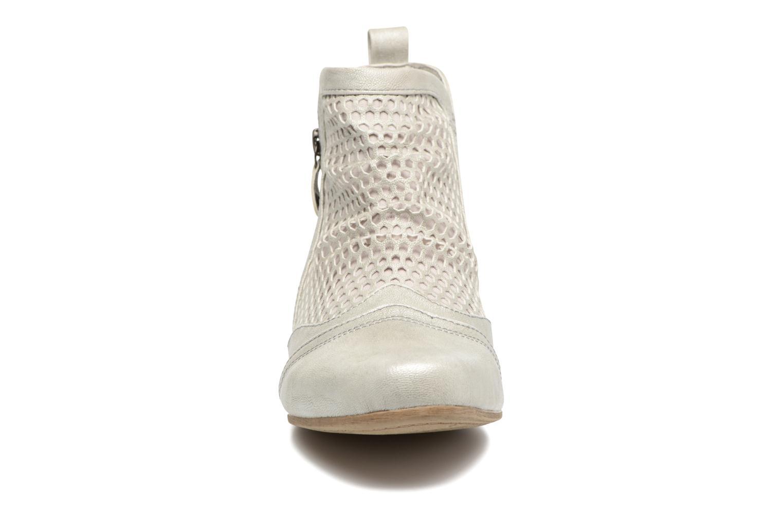 Stiefeletten & Boots Mustang shoes Clelia beige schuhe getragen