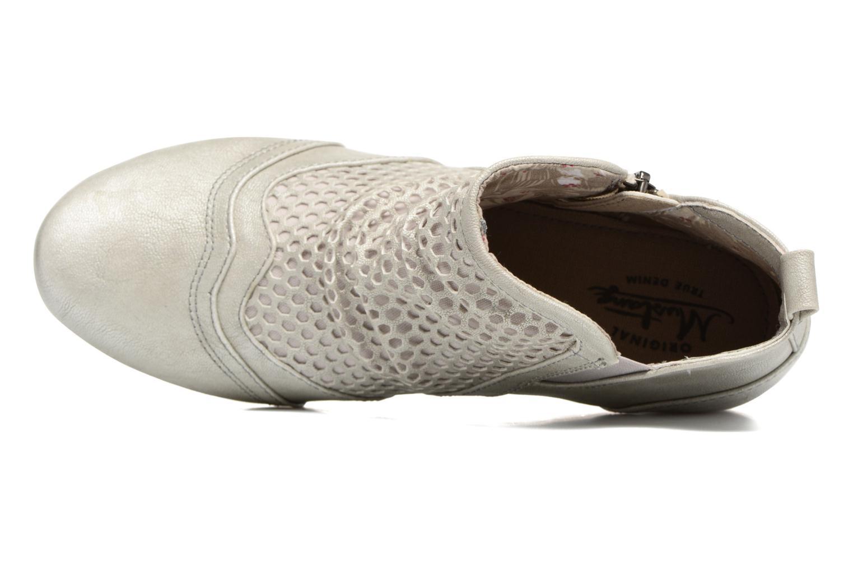 Stiefeletten & Boots Mustang shoes Clelia beige ansicht von links