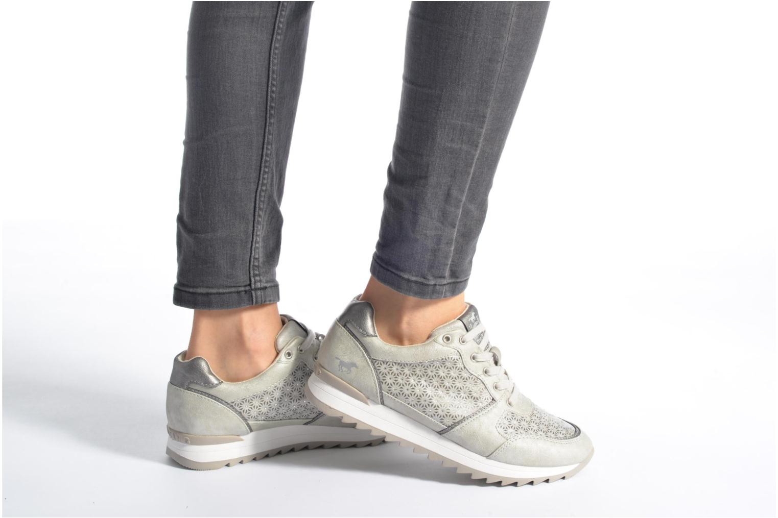 Sneakers Mustang shoes Cacilia Rosa immagine dal basso