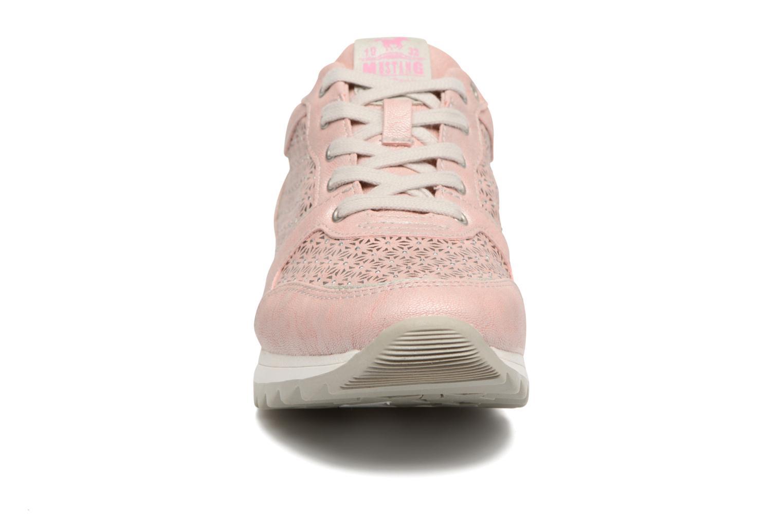 Sneaker Mustang shoes Cacilia rosa schuhe getragen