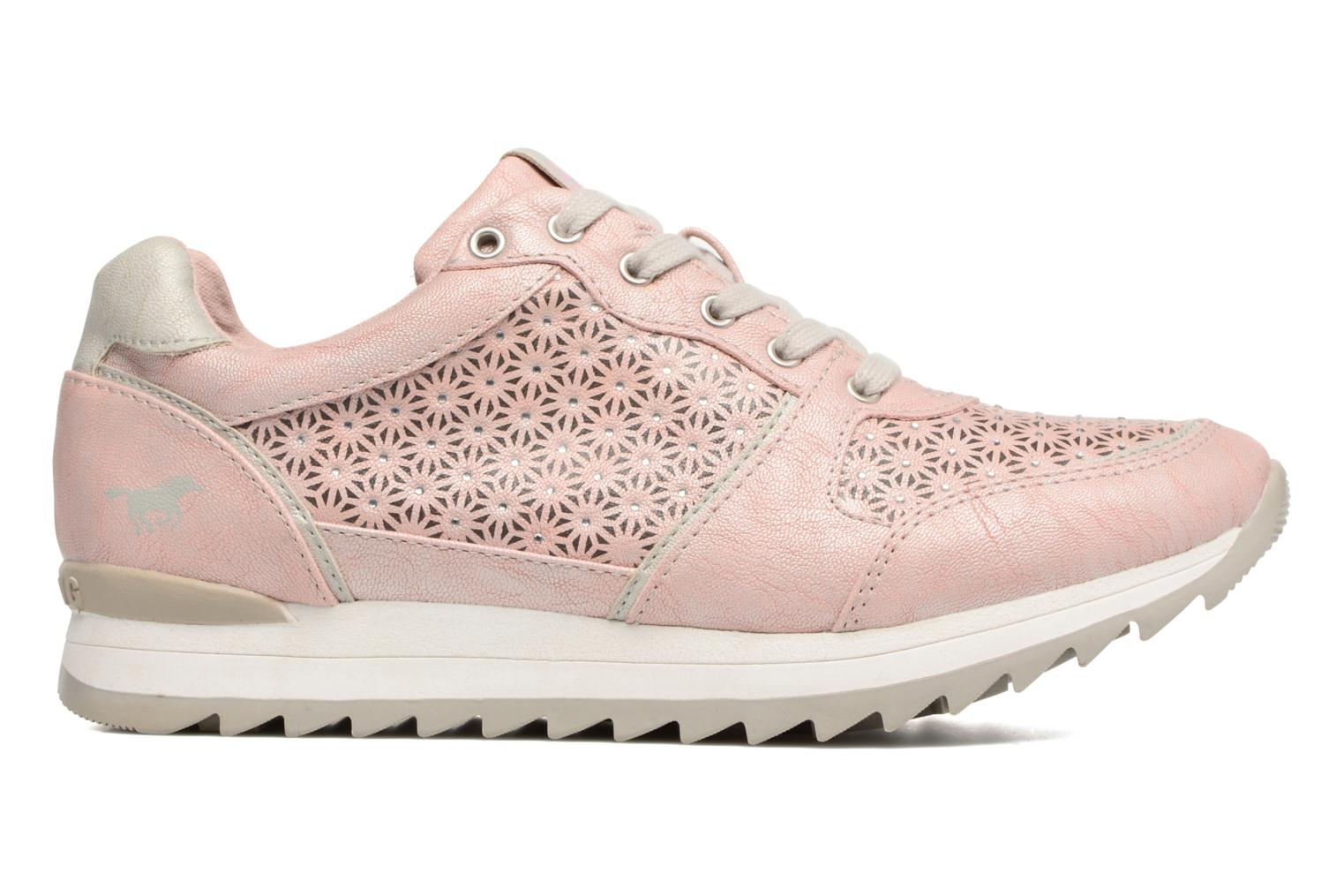 Sneaker Mustang shoes Cacilia rosa ansicht von hinten