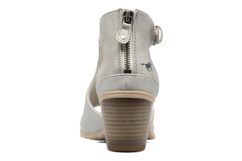Bottines et boots Mustang shoes Theda Argent vue droite