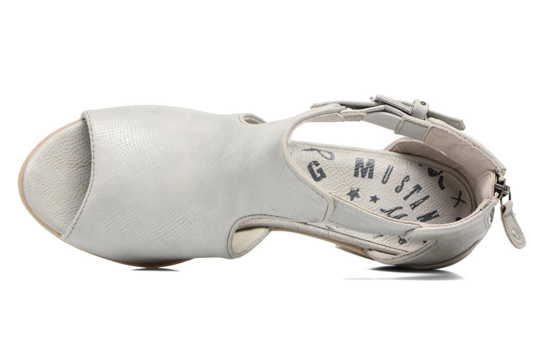 Bottines et boots Mustang shoes Theda Argent vue gauche