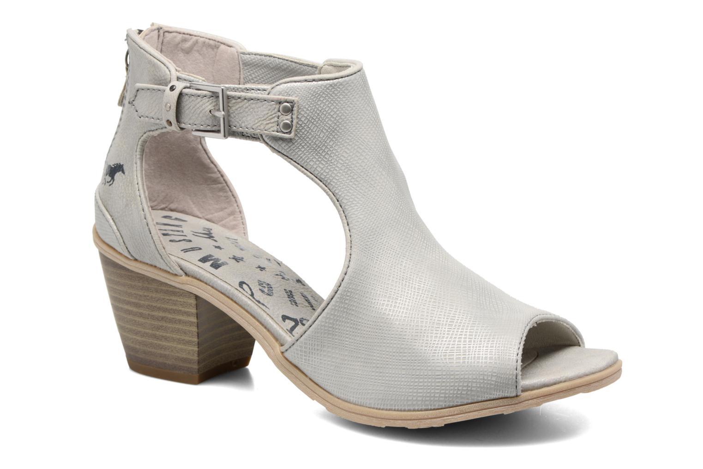 Bottines et boots Mustang shoes Theda Argent vue détail/paire