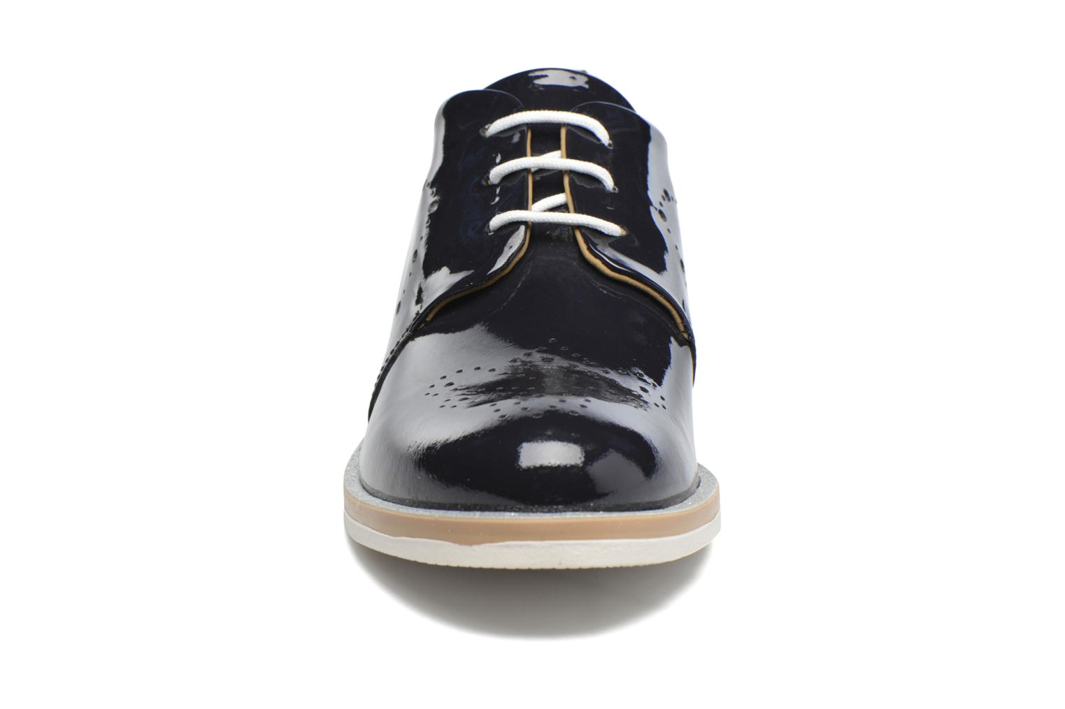 Chaussures à lacets Georgia Rose Maglit Bleu vue portées chaussures
