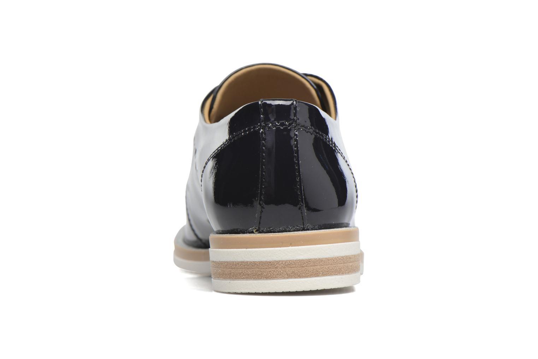 Zapatos con cordones Georgia Rose Maglit Azul vista lateral derecha