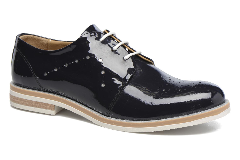 Chaussures à lacets Georgia Rose Maglit Bleu vue détail/paire