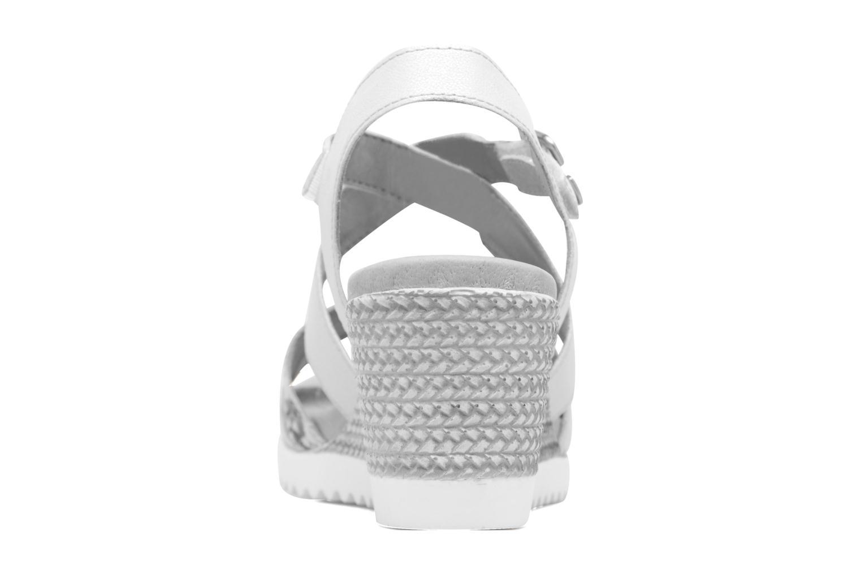 Sandales et nu-pieds Remonte Mona D3452 Argent vue droite