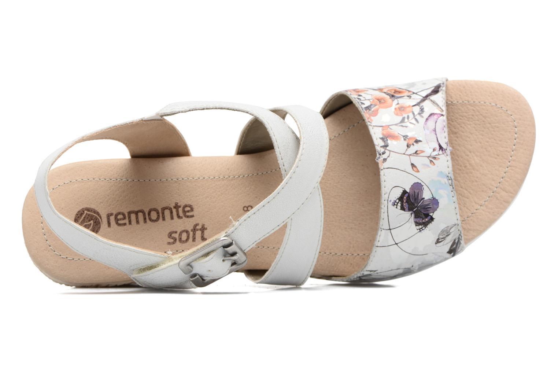 Sandales et nu-pieds Remonte Mona D3452 Argent vue gauche