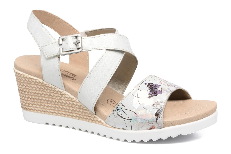 Sandales et nu-pieds Remonte Mona D3452 Argent vue détail/paire