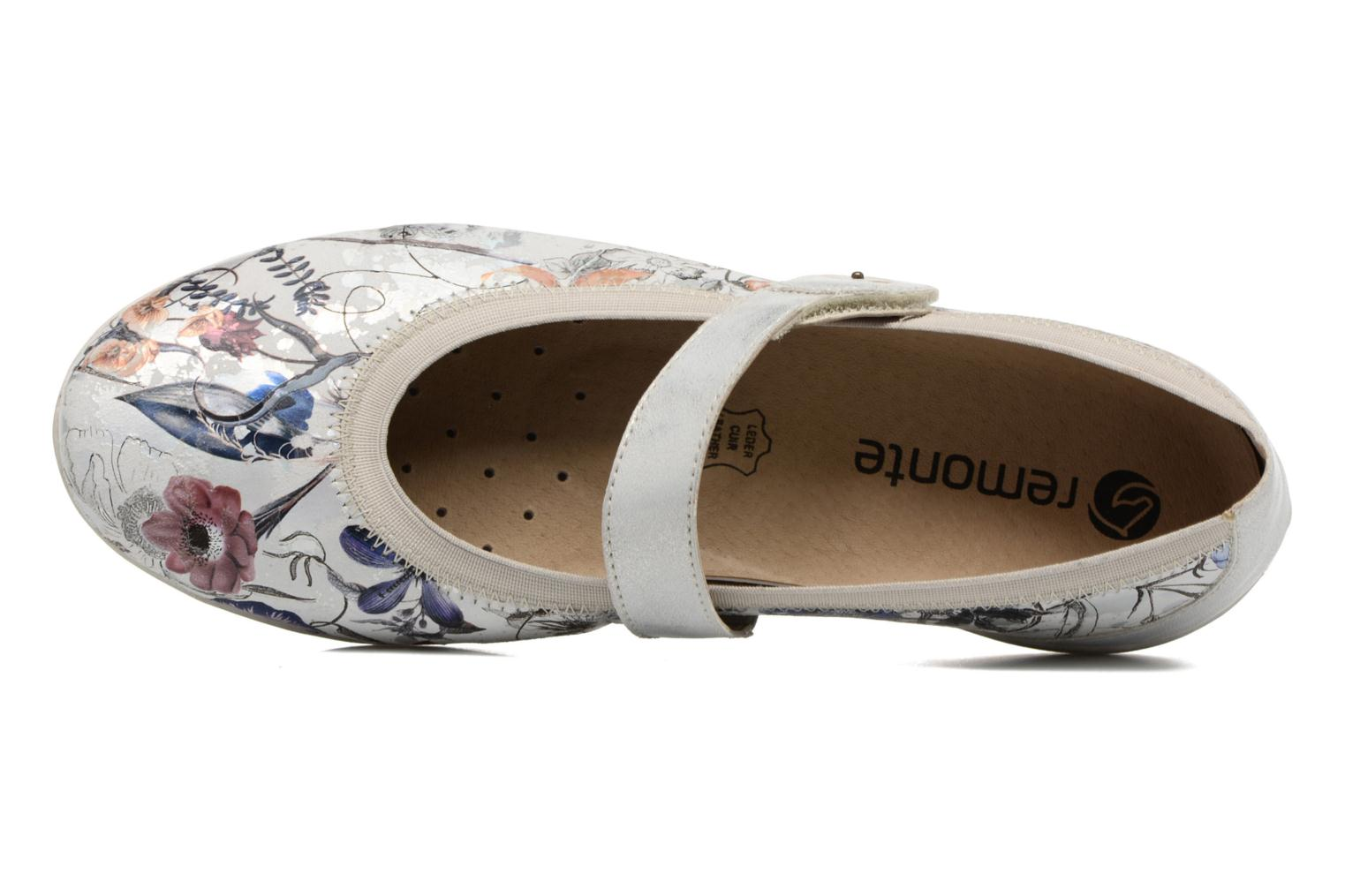 Ballet pumps Remonte Betti D4632 Multicolor view from the left