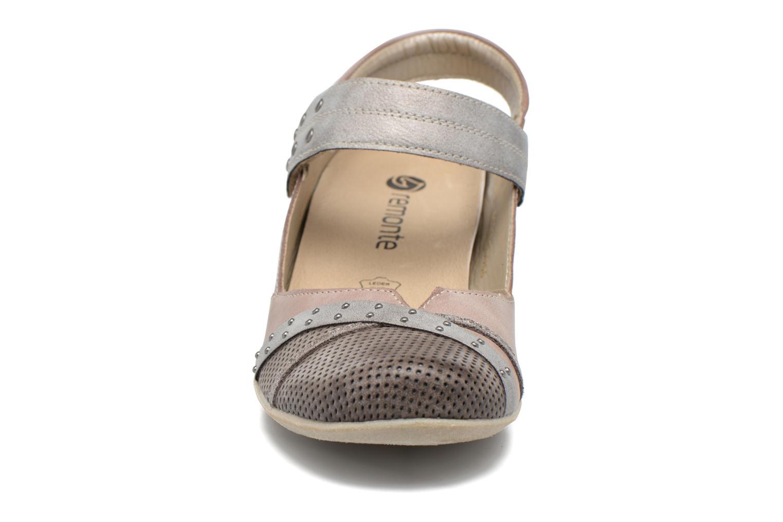 Escarpins Remonte Lina D5002 Marron vue portées chaussures