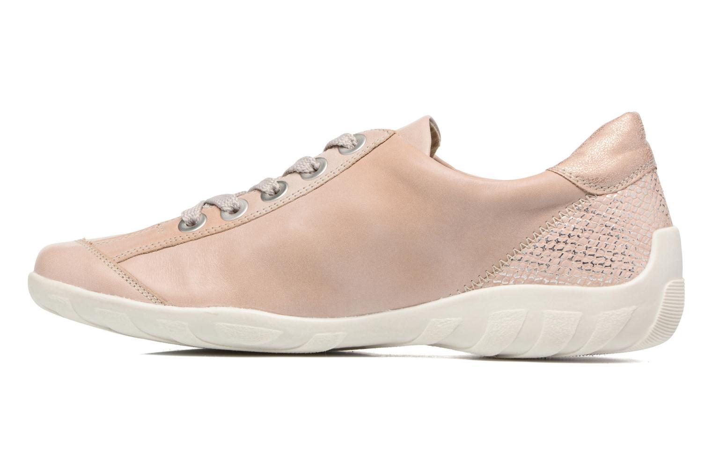 Sneaker Remonte Bora R3419 rosa ansicht von vorne