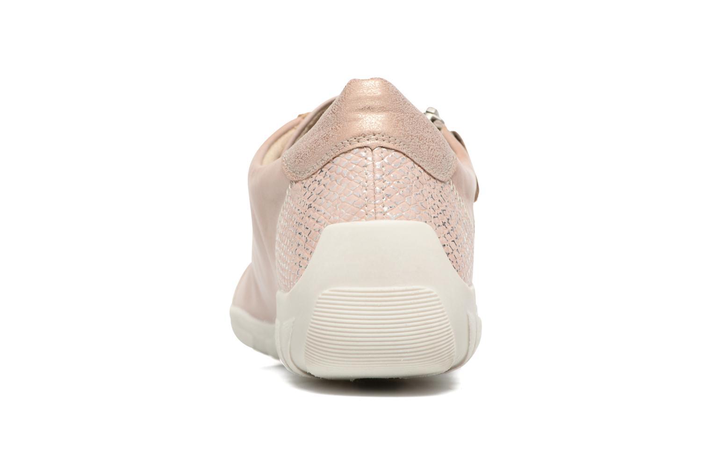 Sneaker Remonte Bora R3419 rosa ansicht von rechts