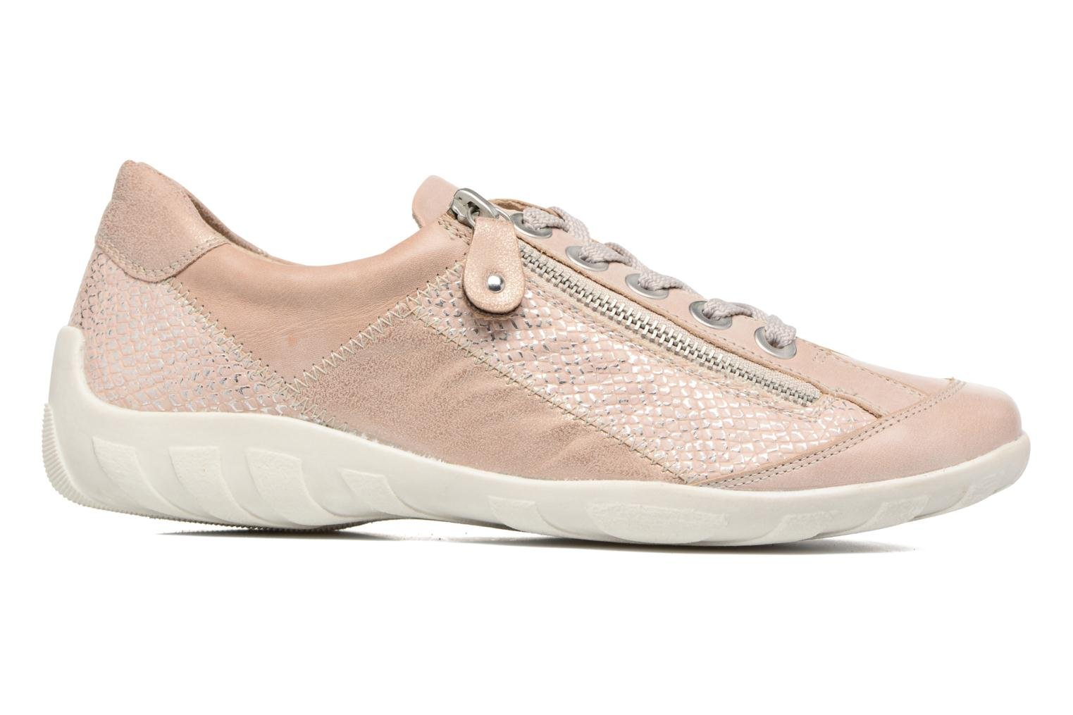 Trainers Remonte Bora R3419 Pink back view