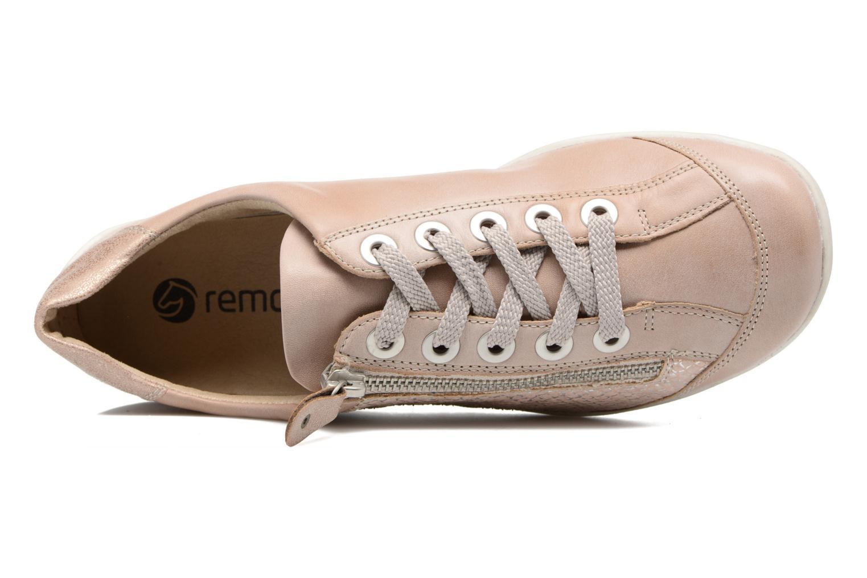 Sneaker Remonte Bora R3419 rosa ansicht von links